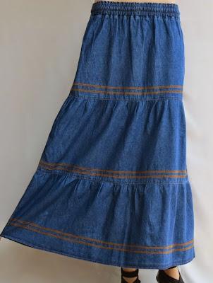 Skirt Jeans Panjang RM330