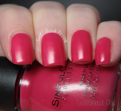 sinful colors a class act swatch review radient