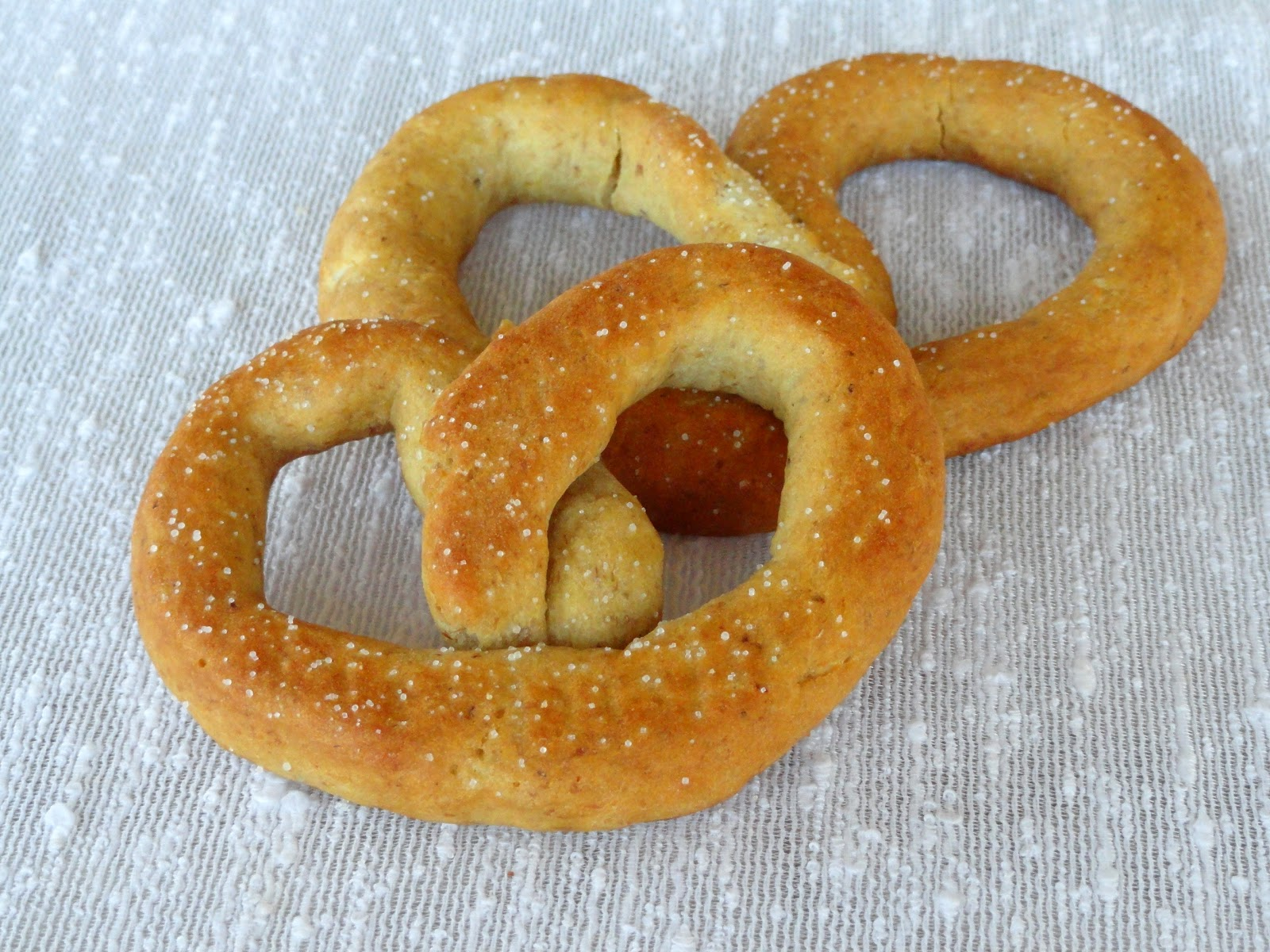 Gluten Free Soft Pretzels taste like the real thing. They are soft ...