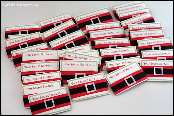 Santa wish list template free printable for Secret santa craft ideas