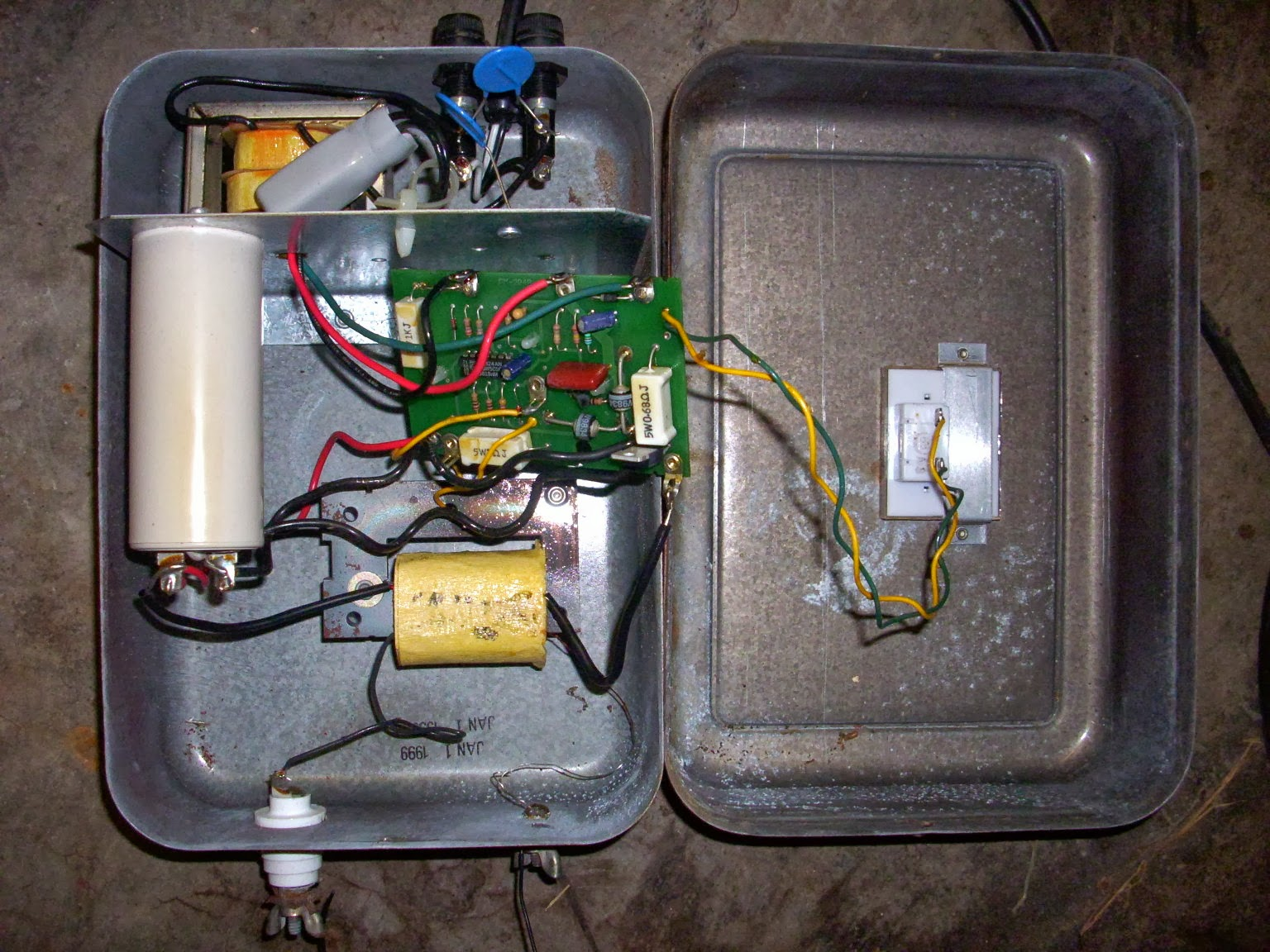 Steves Fix It Shop: Electric Fence Charger Repair