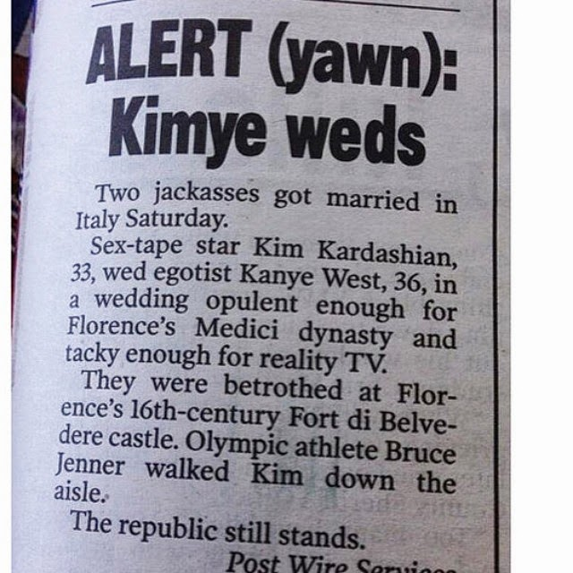 Kimye New York Post