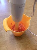 Cremiges Erdbeereis mit Kokos Schokostreuseln selbst machen ohne Eismaschine Eis Zauber