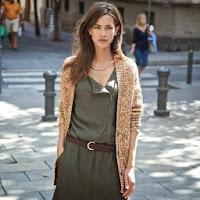 Jacheta sacou din tesatura cu fir rasucit metalizata femei