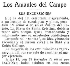 Más eucaliptos,  más   coníferas. Consecuencias de la sed de beneficio$ en la húmeda Galicia. El sector forestal. 1930_Cr%25C3%25B3nica+excursi%25C3%25B3n+Amantes+del+Campo+a+bosque+pinos+y+eucaliptos