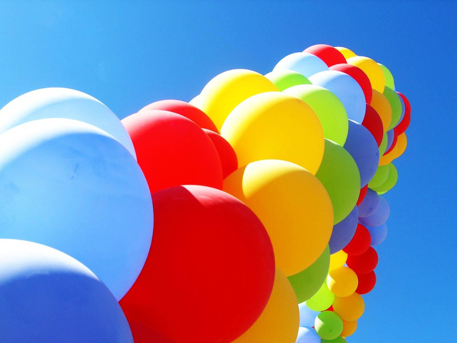 Gambar-Gambar Balon dengan Warna Warni Cantik