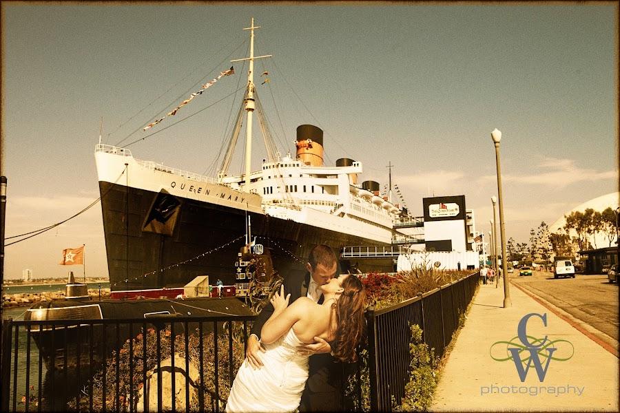 wedding, Queen Mary, Long Beach