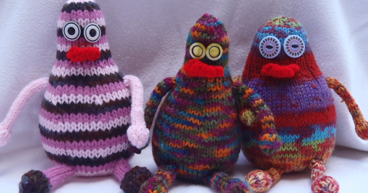 Stanas Critters Etc.: Knitting Pattern for Fateaters