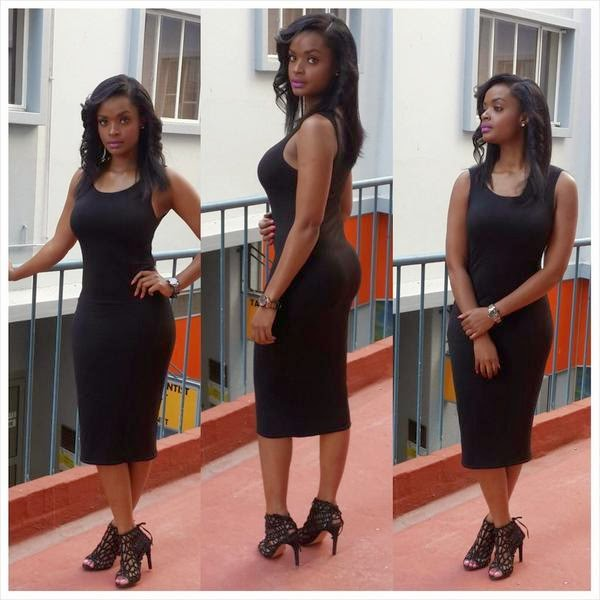 Dillish Mathews Shines In Black