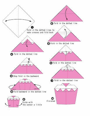 best cake Origami