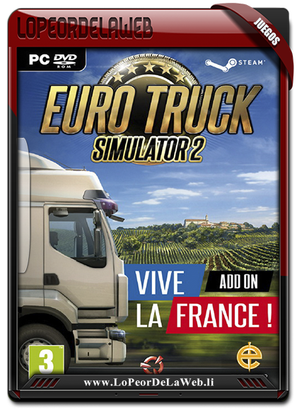 Euro Truck Simulator 2: Vive la France! Multilenguaje [MG]