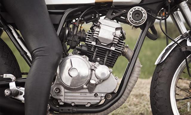 Yamaha Cafe Racer | Verve Moto | Yamaha Cafe Racer parts | Yamaha Cafe Racer seat | Yamaha Cafe Racer tank | Yamaha Cafe Racer conversion | Yamaha Cafe Racer images | Yamaha Scorpio 225 cc | Yamaha Scorpio 225 cc cafe racer | ZUI Racer