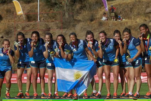 Plata para el seven femenino en los Juegos Odesur