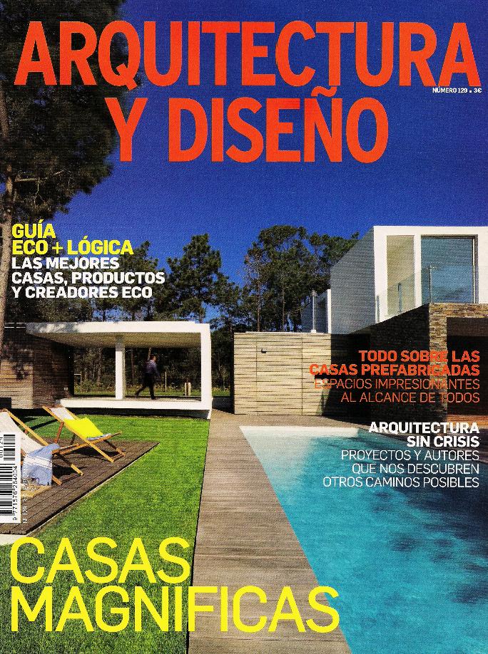 Edificaci n modular ecoeficiente las revistas hablan de for Portadas de arquitectura