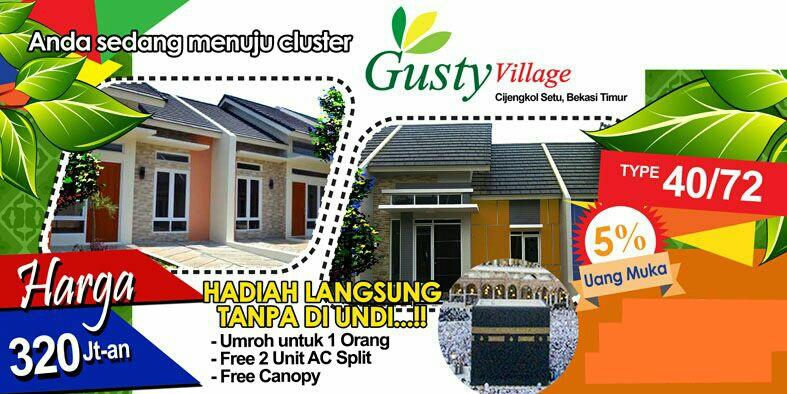 Gusty Village   Cijengkol Setu Bekasi Timur