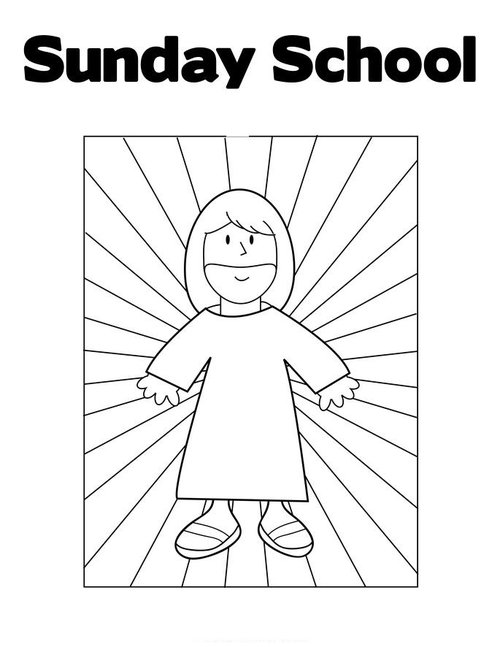 Sunday School Coloring Pages For Kids Gt Gt Disney Coloring Pages Sunday School Printable Coloring Pages