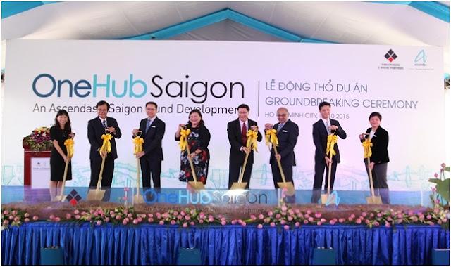 Nghi thức động thổ tại khu phức hợp OneHub Saigon