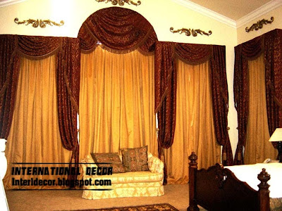 Classic curtain designs, bedroom curtains 2014