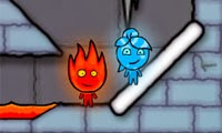 Fireboy & Watergirl 3 - in Ice Temple FLASH GAME