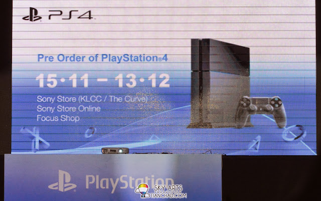 Pre order of PlayStation 4 in Malaysia starting from 15 Nov to 13 Dec