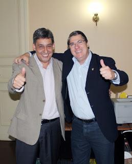 Sebastião Melo e Paulo Marques Porto Alegre