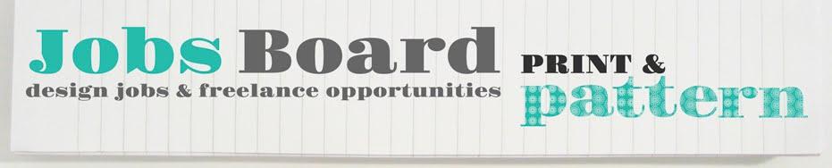 print & pattern job board