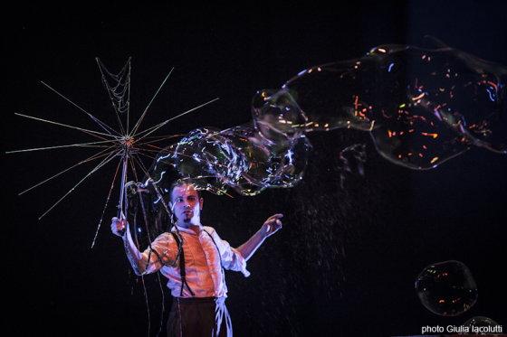Weekend coi bambini a Milano: spettacolari effetti con acqua e sapone al Teatro Sala Fontana