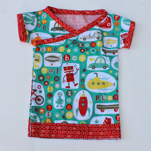 free sewing pattern kimono top