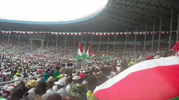 PDP Presidential rally in River