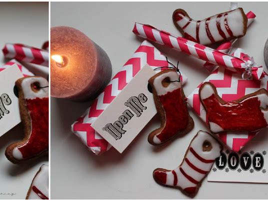 [Foodchallenge] Wir backen für den Weihnachtsmann - Vegane Gingerbread Weihnachtsstrümpfe