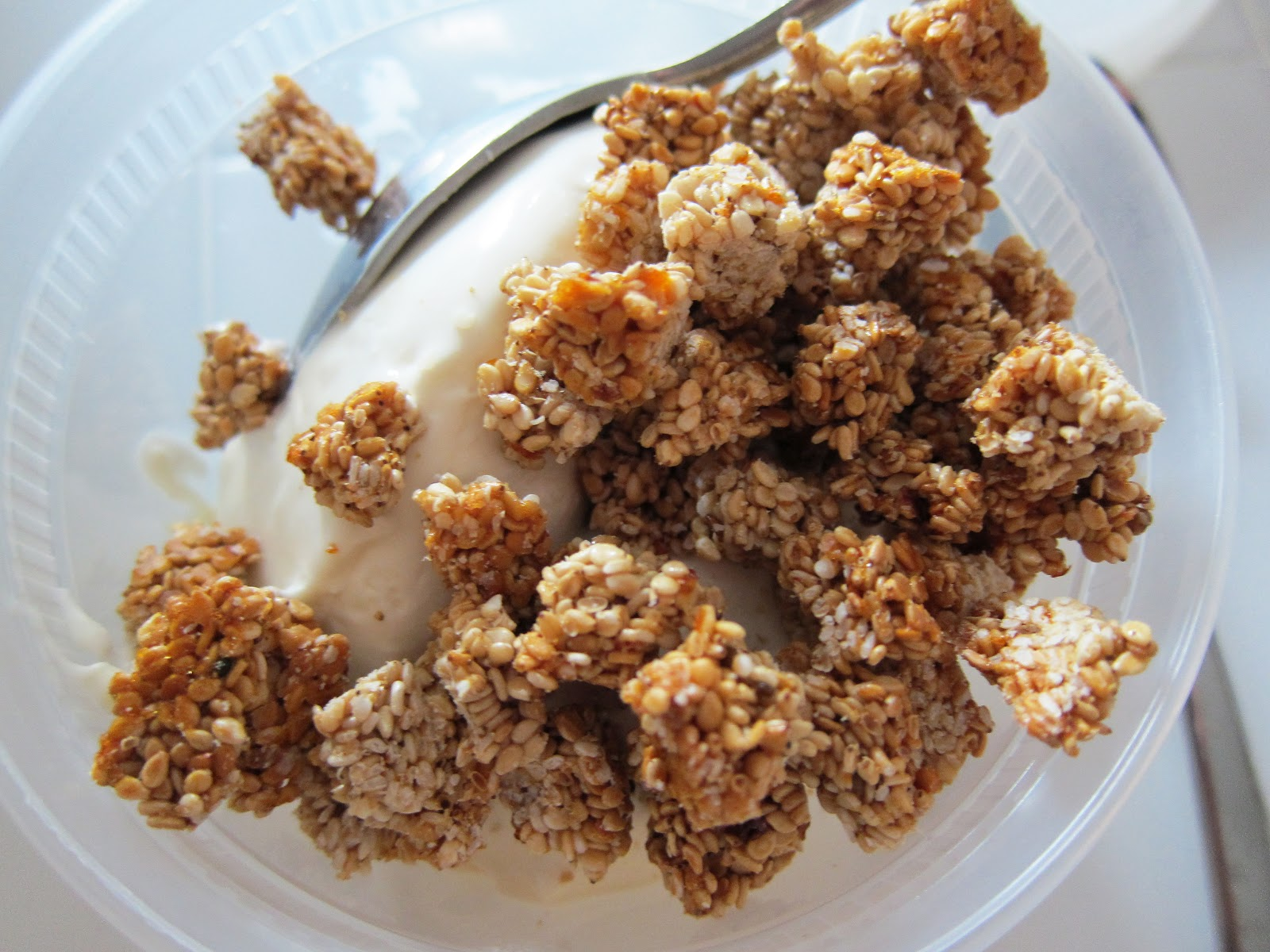 ... sesame brittle breaking up the sesame brittle well i am proud to say