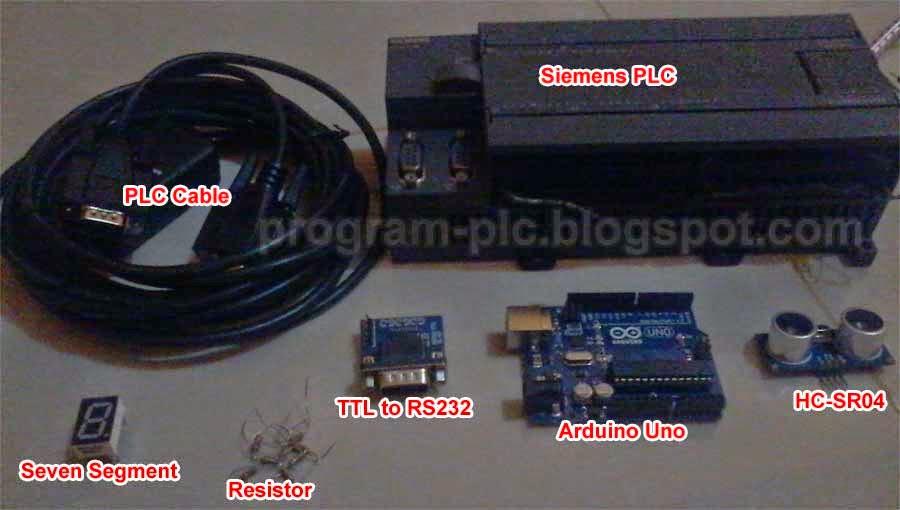 Hardware of ultrasonic sensor in PLC application