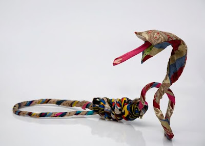 Amazing Art Sculptures Made Of Second-Hand Clothing Seen On www.coolpicturegallery.us