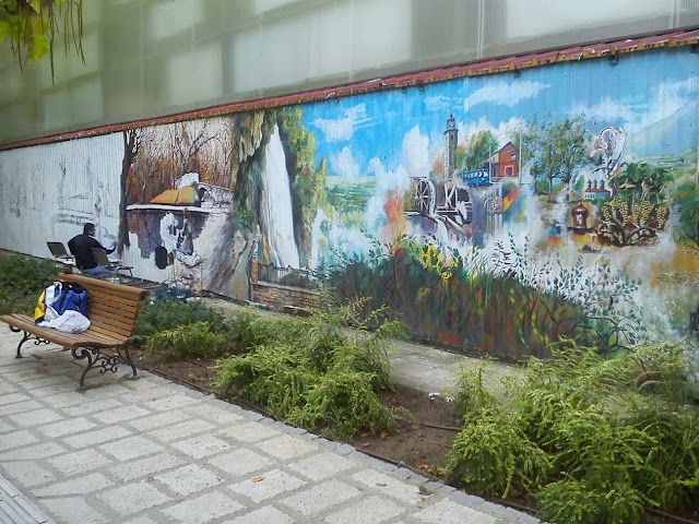 Ζωγραφική σε κτίρια
