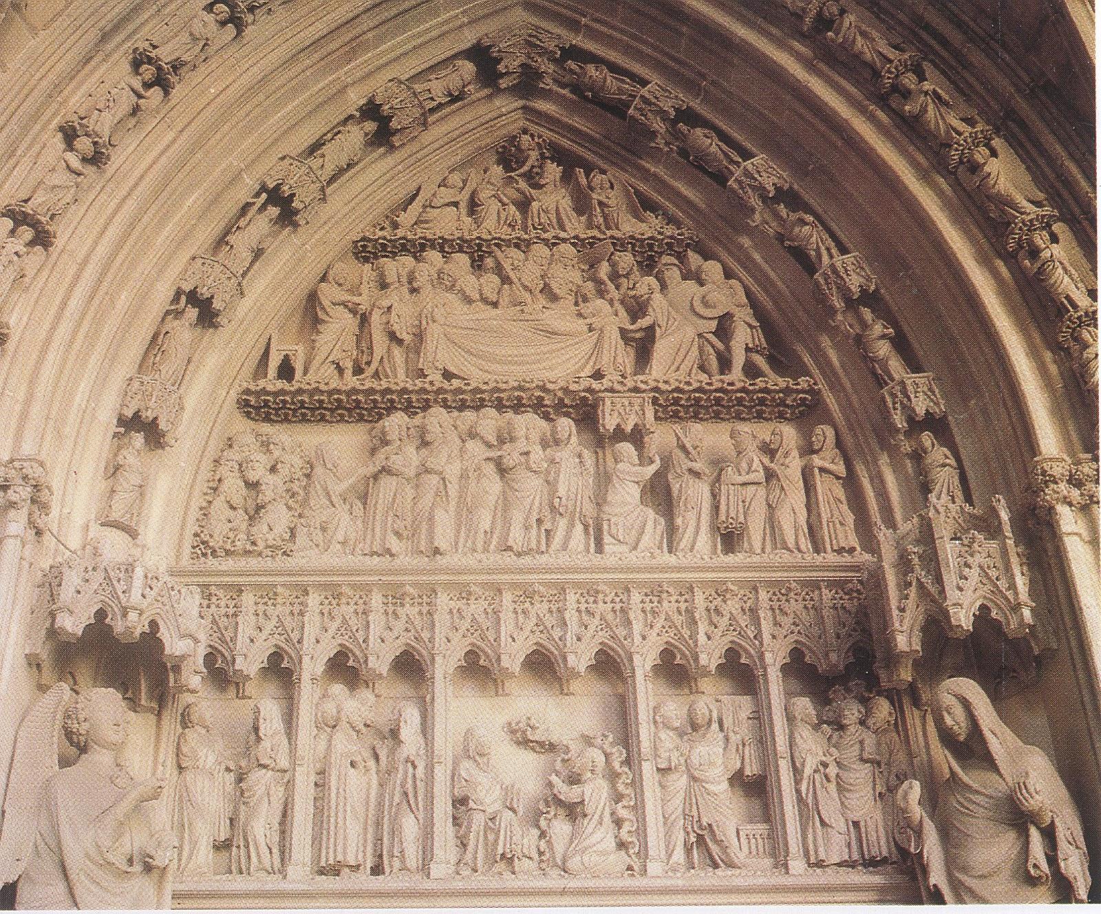 Blogearte puerta preciosa catedral de pamplona s xiv - El dormitorio pamplona ...