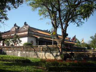 Supreme Harmony Palace. Citadel of Hue (Vietnam)
