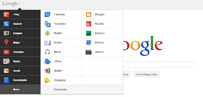 Google Home Page New Look