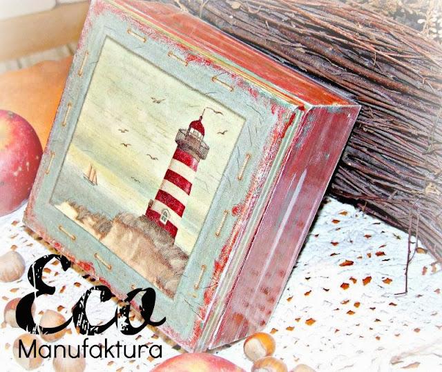 jesienny decoupage inspiracje decoupage by Eco Manufaktura