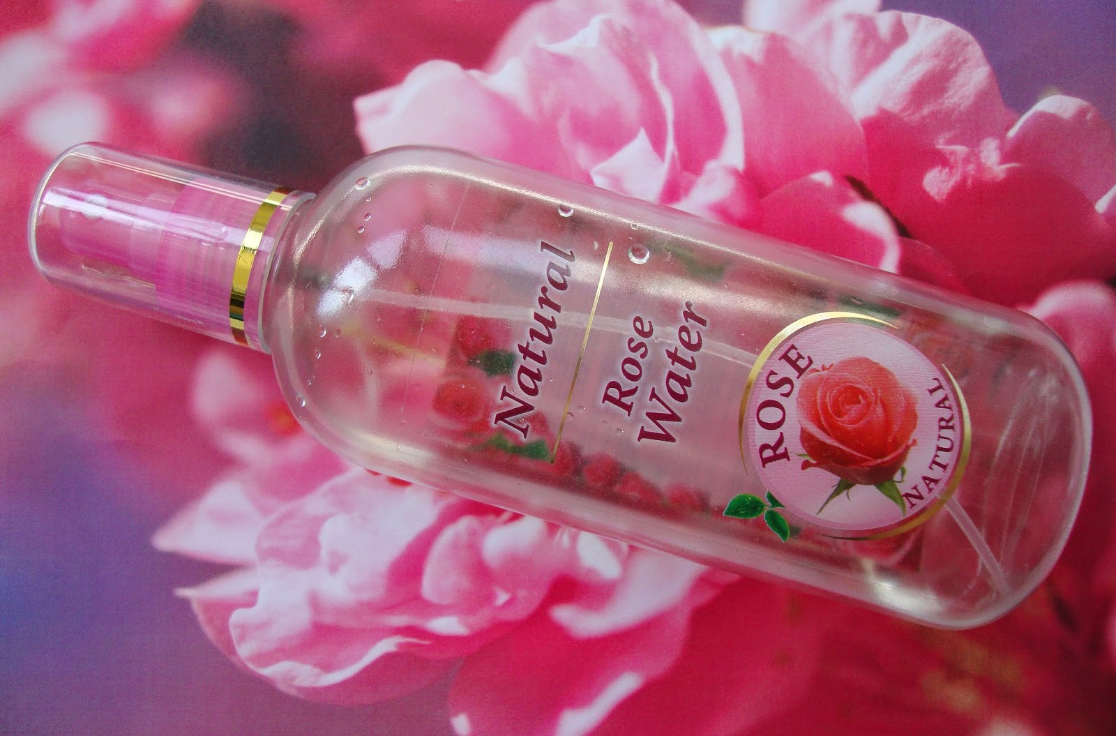 Natural Rose Water Rose Natural