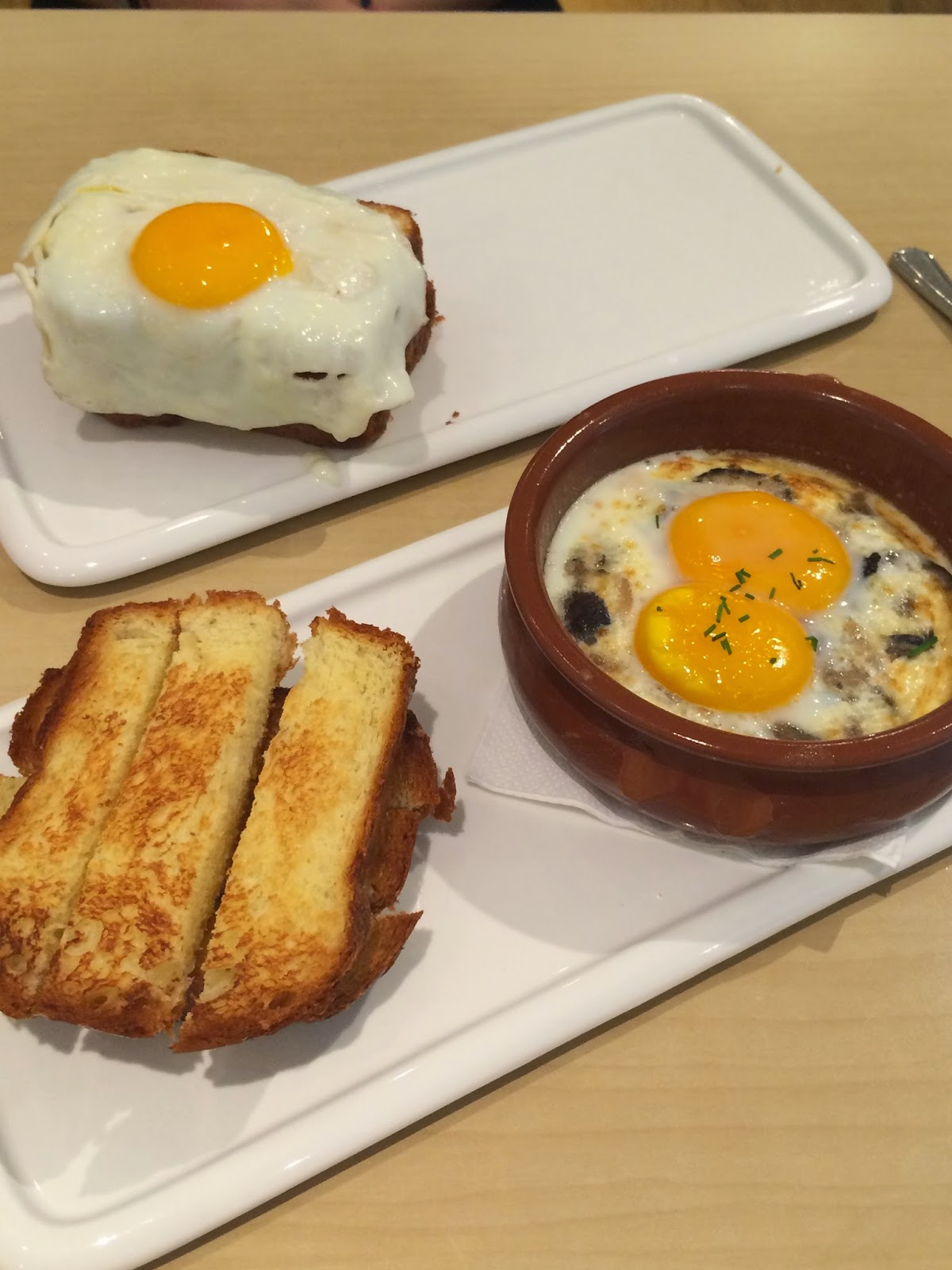 Cocotte and Croque Madame