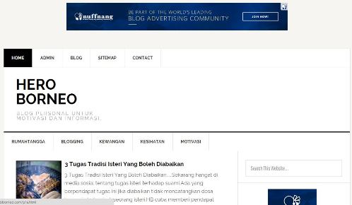 Blog Review HeroBorneo Com