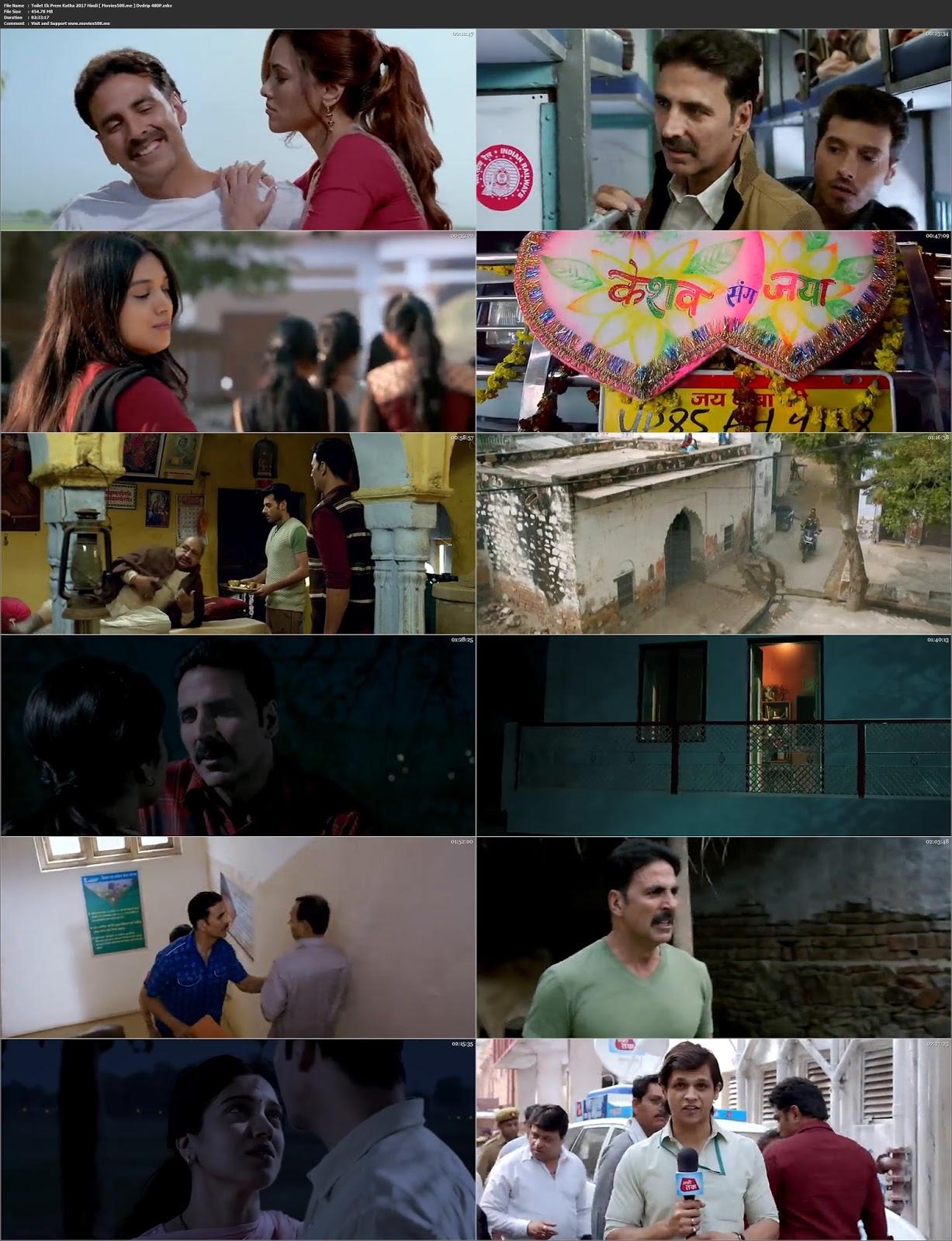 Toilet Ek Prem Katha 2017 Hindi 270MB Mobile Download at freedomcopy.com