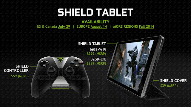 NVIDIA Shield Tablet & Controller