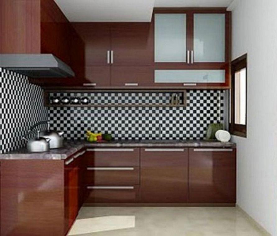Rancangan Interior Untuk Dapur Bentuk L Yang Cantik
