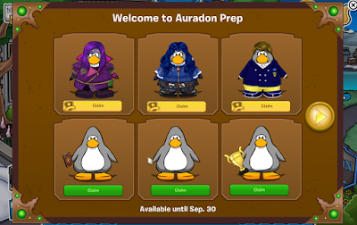 Club Penguin Descendants Party 2015 Cheats