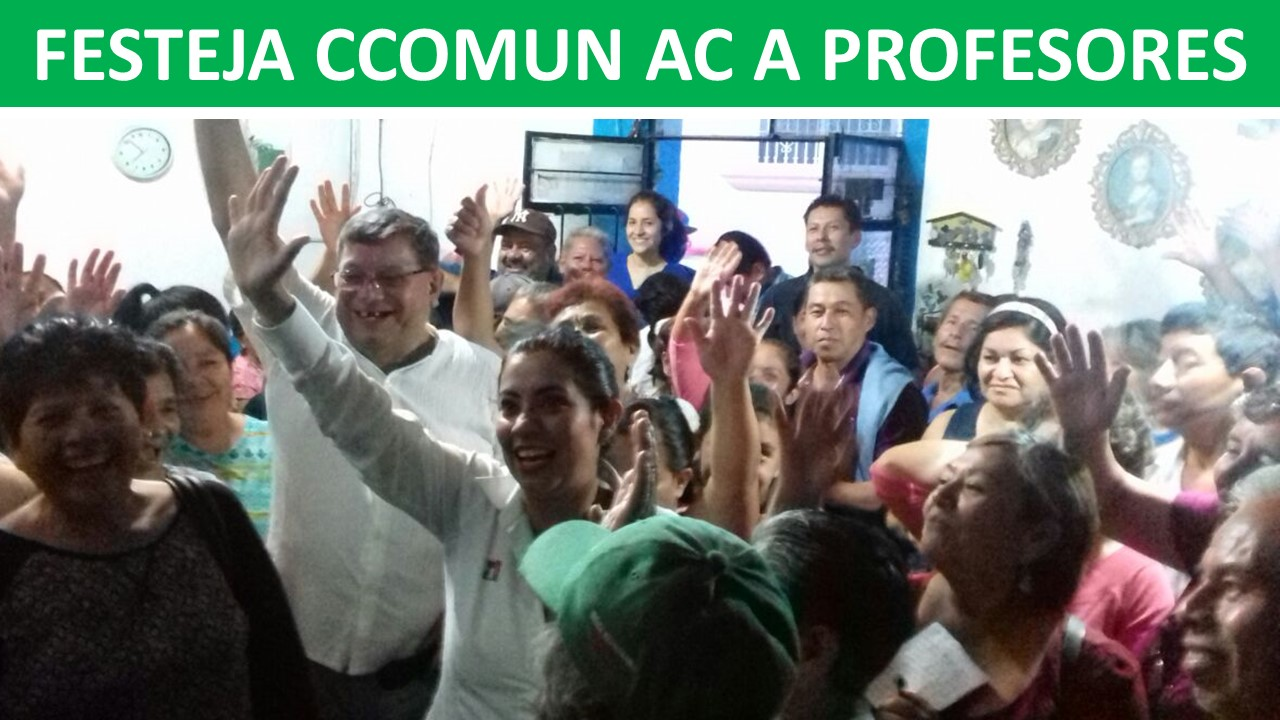FESTEJA CCOMUN AC A PROFESORES