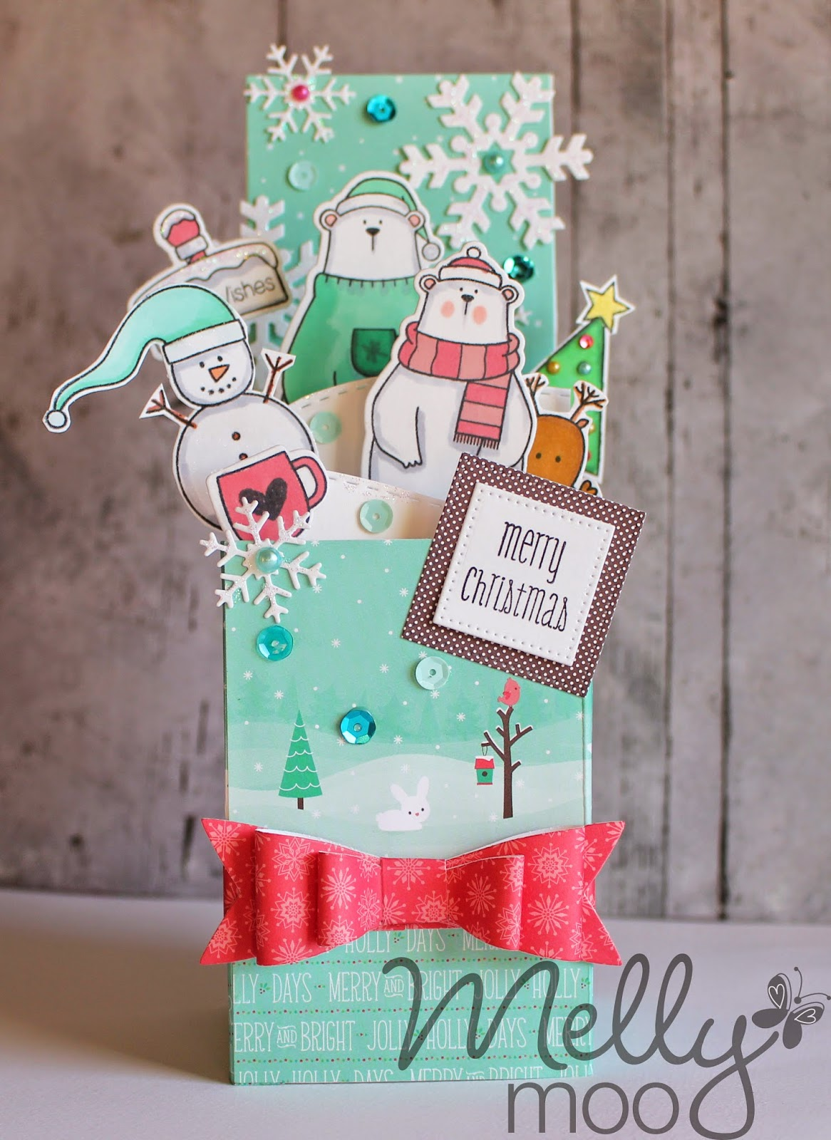 Craft Mojo: Pop-up Christmas card