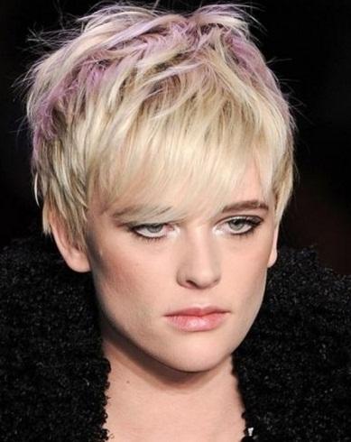 Short Choppy Layered Hairstyle 2014
