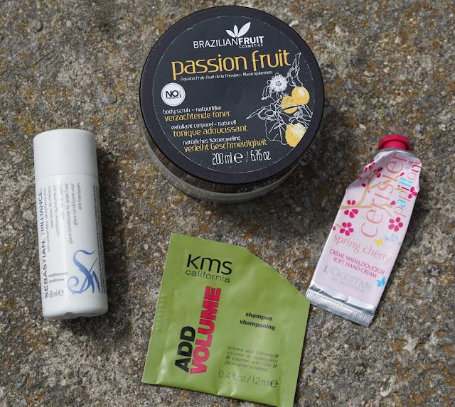 Aufgebrauchte Kosmetik - Mai 2015 L'Occitane, KMS California