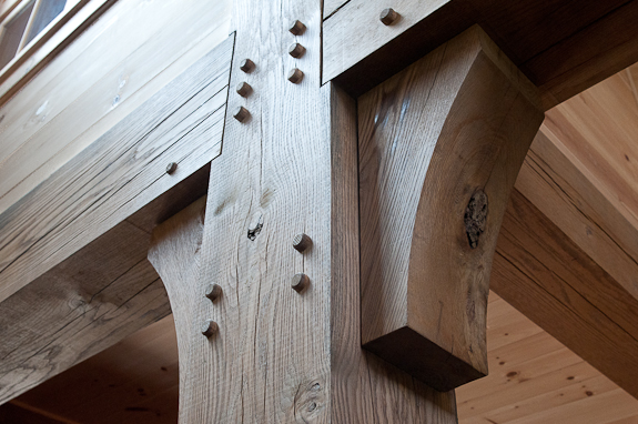 Our french inspired home rustic ceiling beams old world for Wood box beam